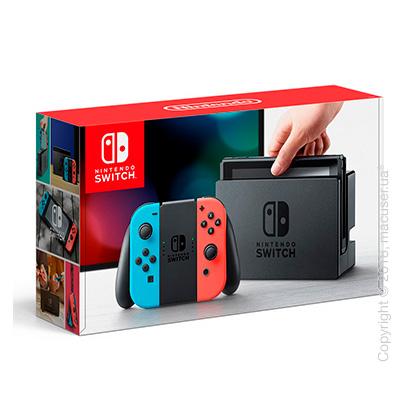 Игровая консоль Nintendo Switch - Neon Red/Neon Blue Joy-Con V2