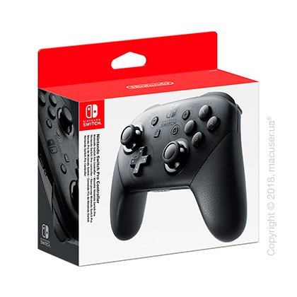 Игровой контроллер Nintendo Switch Pro Controller - Black