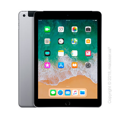 Apple iPad Wi-Fi + Cellular 32GB, Space Gray