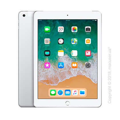 Apple iPad Wi-Fi + Cellular, 32GB, Silver