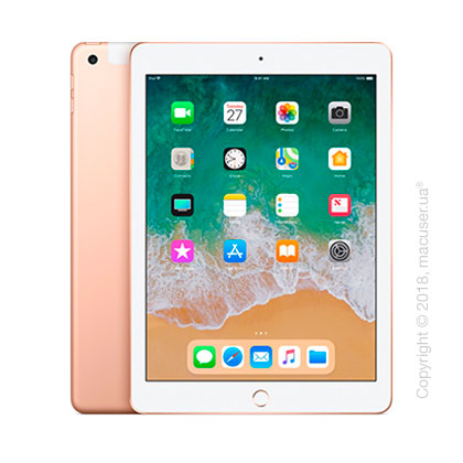 Apple iPad Wi-Fi + Cellular 128GB, Gold
