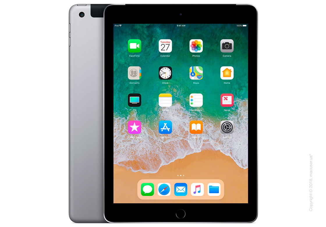 Apple iPad Wi-Fi + Cellular 128GB, Space Gray