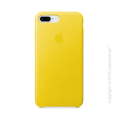 Чехол Apple iPhone 8 Plus/7 Plus  Leather Case, Spring Yellow