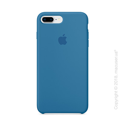 Чехол Apple iPhone 8 Plus/7 Plus Silicone Case, Denim Blue