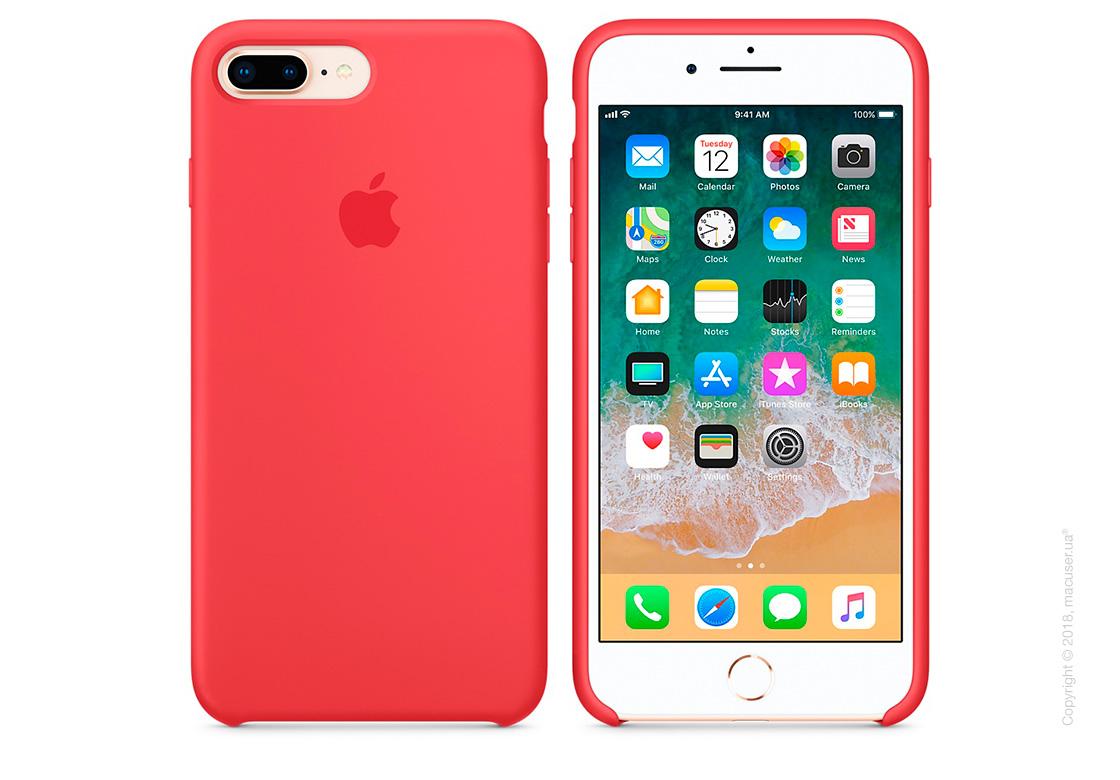 Чехол Apple iPhone 8 Plus/7 Plus  Silicone Case, Red Raspberry