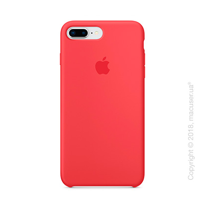 Чехол Apple iPhone 8 Plus/7 Plus  Silicone Case, Red Raspberry