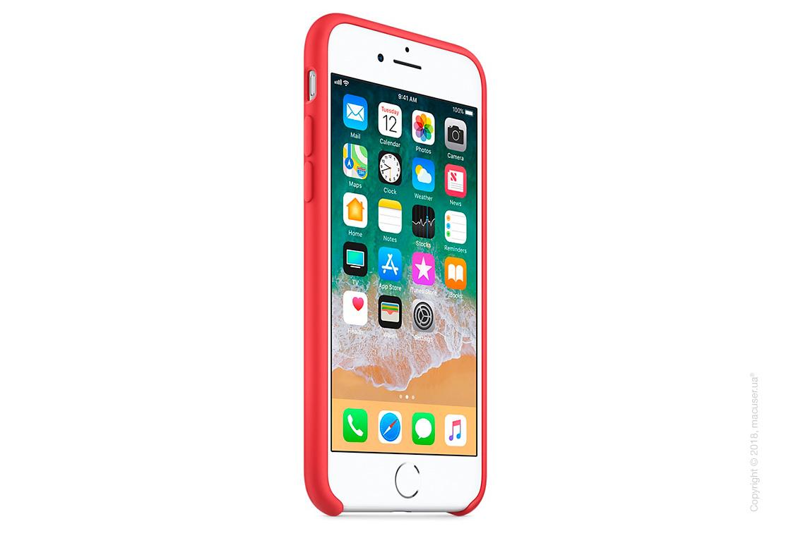 Чехол Apple iPhone 8/7 Silicone Case, Red Raspberry