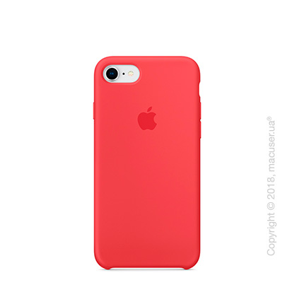 Чехол Apple iPhone 8/7 Silicone Case, Red Raspberry