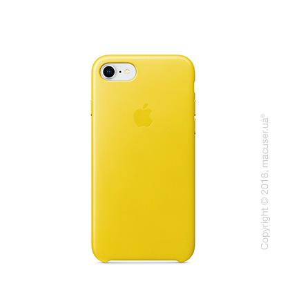 Чехол Apple iPhone 8/7 Leather Case, Spring Yellow
