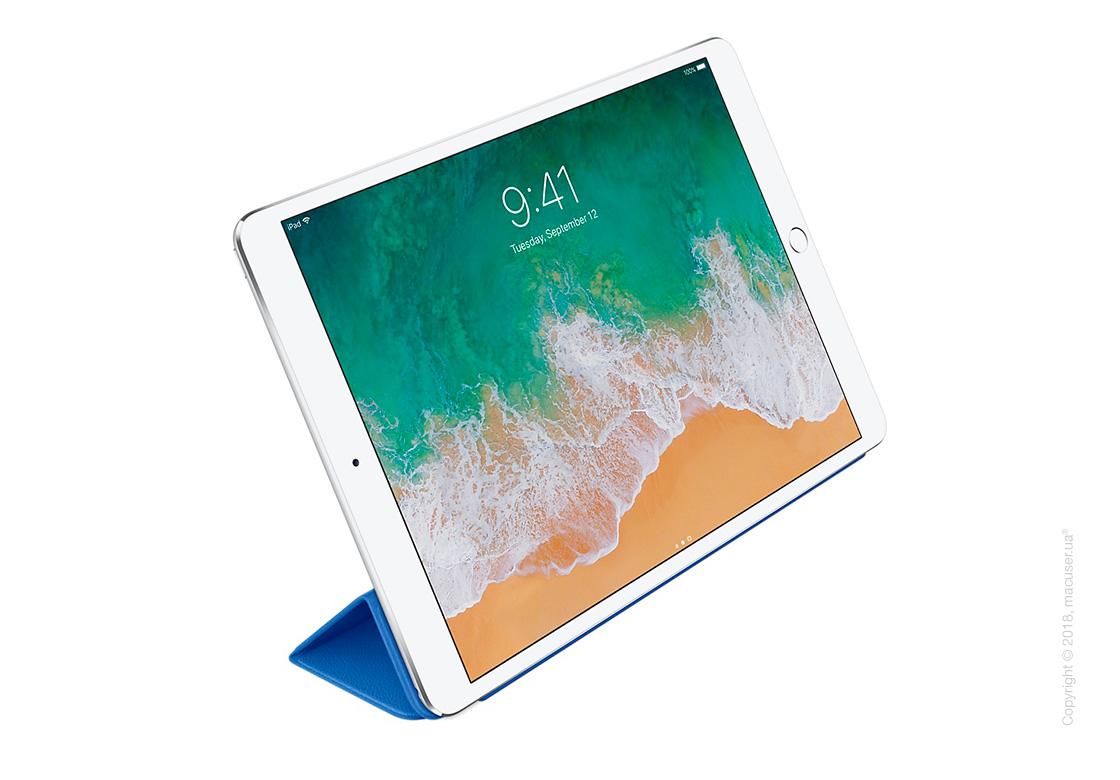 Чехол Кожаный Smart Cover, Electric Blue для iPad Pro 10,5 New