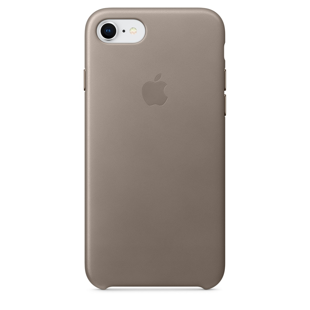 Чехол Apple iPhone 8/7 Leather Case, Taupe
