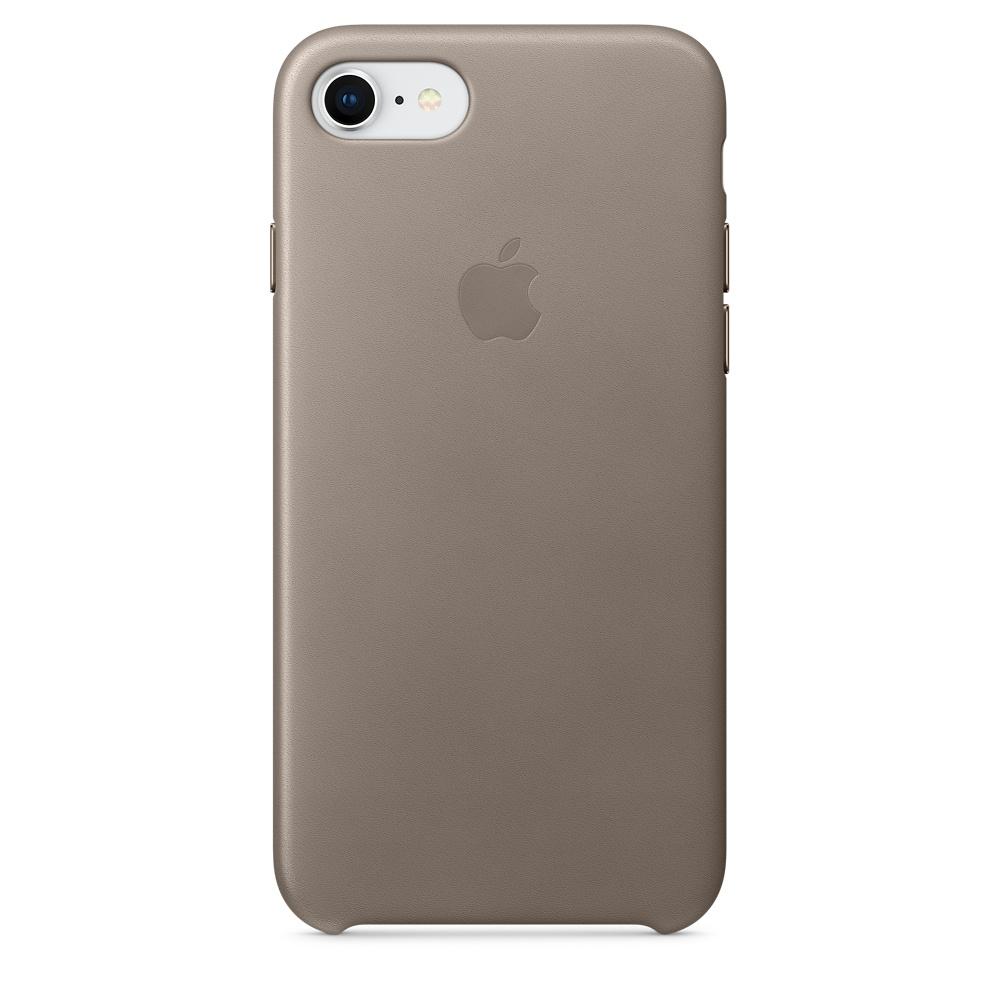 Чехол Apple iPhone 8/7 Leather Case, Taupe