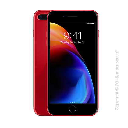 Apple iPhone 8 Plus 64GB, (PRODUCT)RED Special Edition