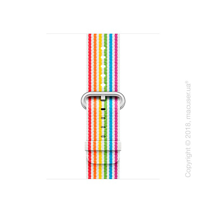 Спортивный браслет Apple 38mm Pride Edition Woven Nylon