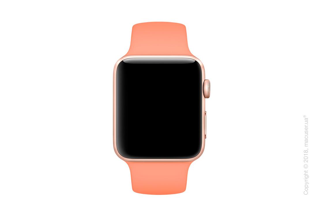 Спортивный ремешок Apple 42mm Peach Sport Band – S/M & M/L