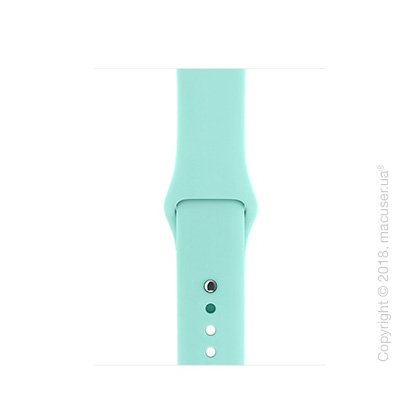 Спортивный ремешок Apple 38mm Marine Green Sport Band – S/M & M/L