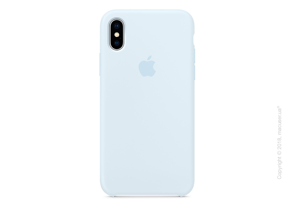 new arrival 20810 a015d Чехол Apple iPhone X Silicone Case - Sky Blue