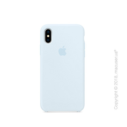 Чехол Apple iPhone X Silicone Case - Sky Blue