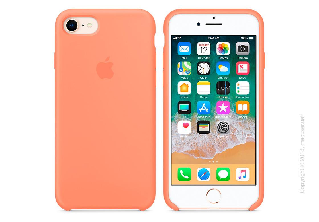 Чехол Apple iPhone 8/7 Silicone Case - Peach