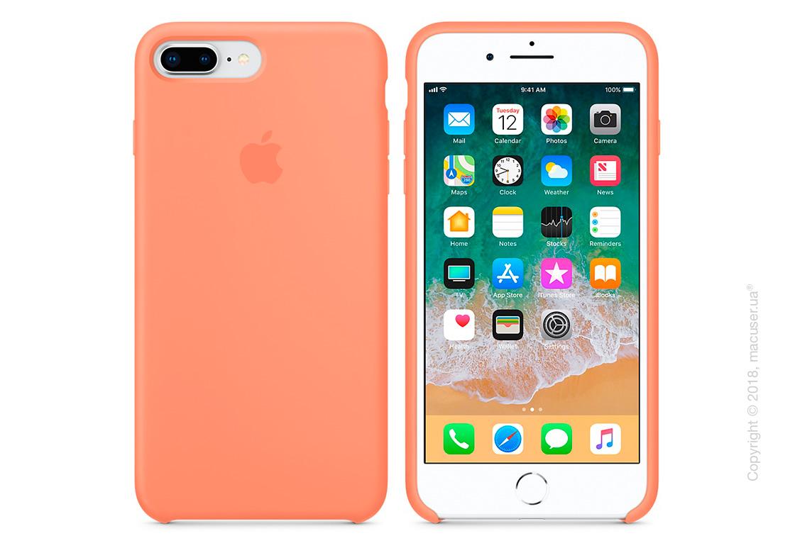 Чехол Apple iPhone 8 Plus/7 Plus Silicone Case - Peach