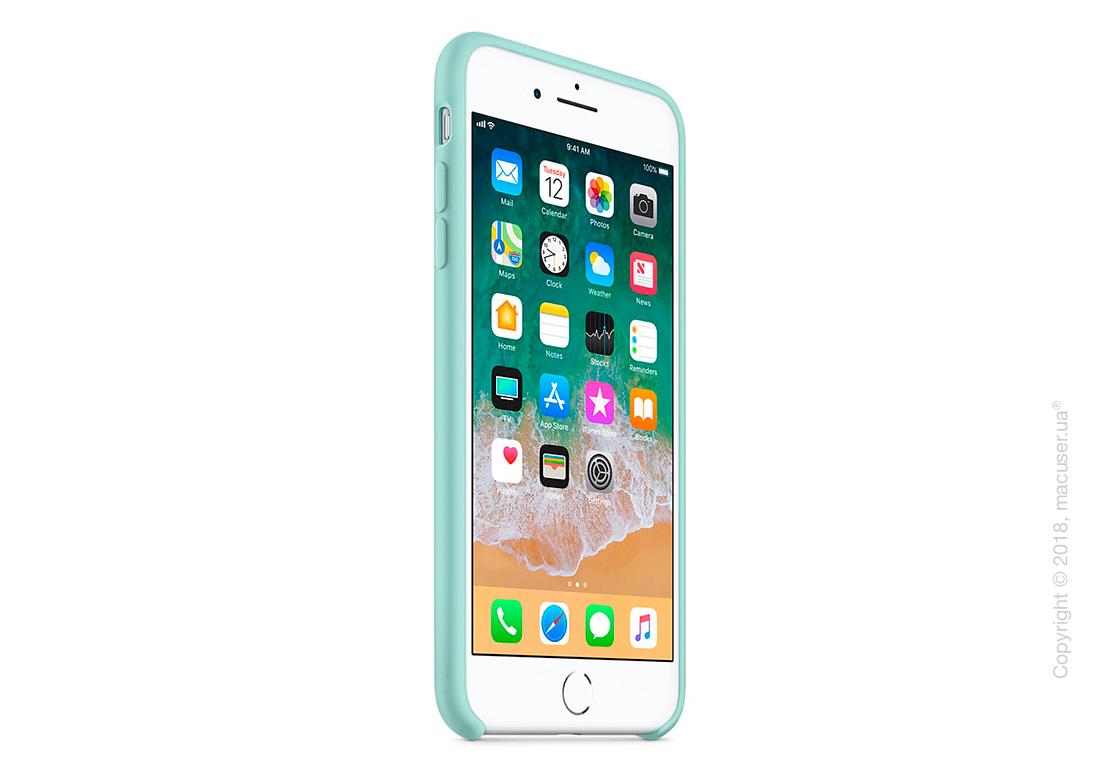 Чехол Apple iPhone 8 Plus/7 Plus Silicone Case - Marine Green