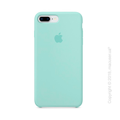 Чехол Apple iPhone 8 Plus/7 Plus Silicone Case - Marine Green