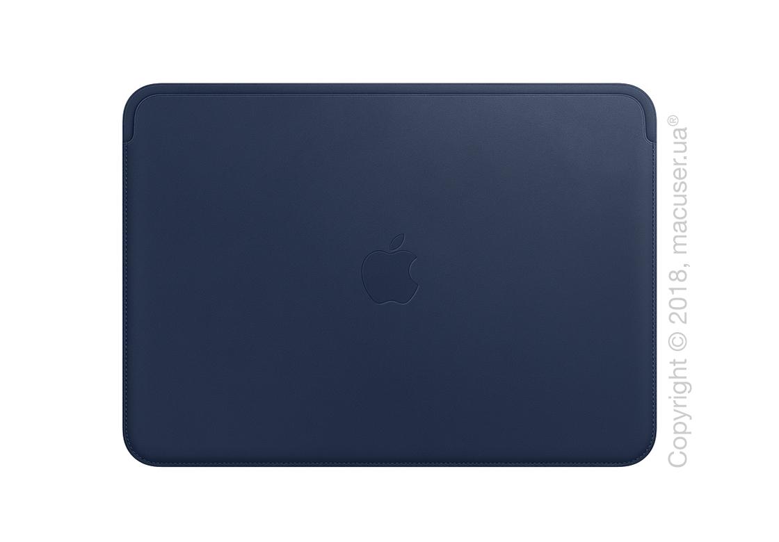 Кожаный чехол для MacBook Pro 15 дюймов, Midnight Blue