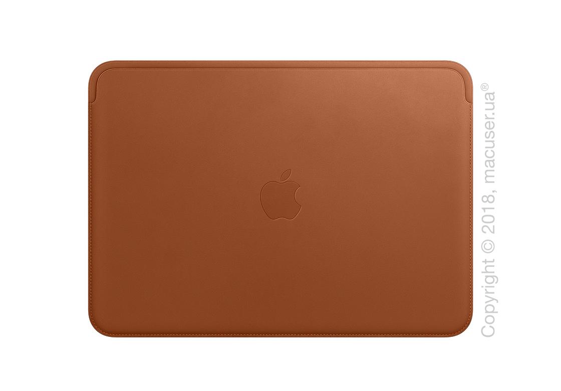 Кожаный чехол для MacBook Pro 15 дюймов, Saddle Brown