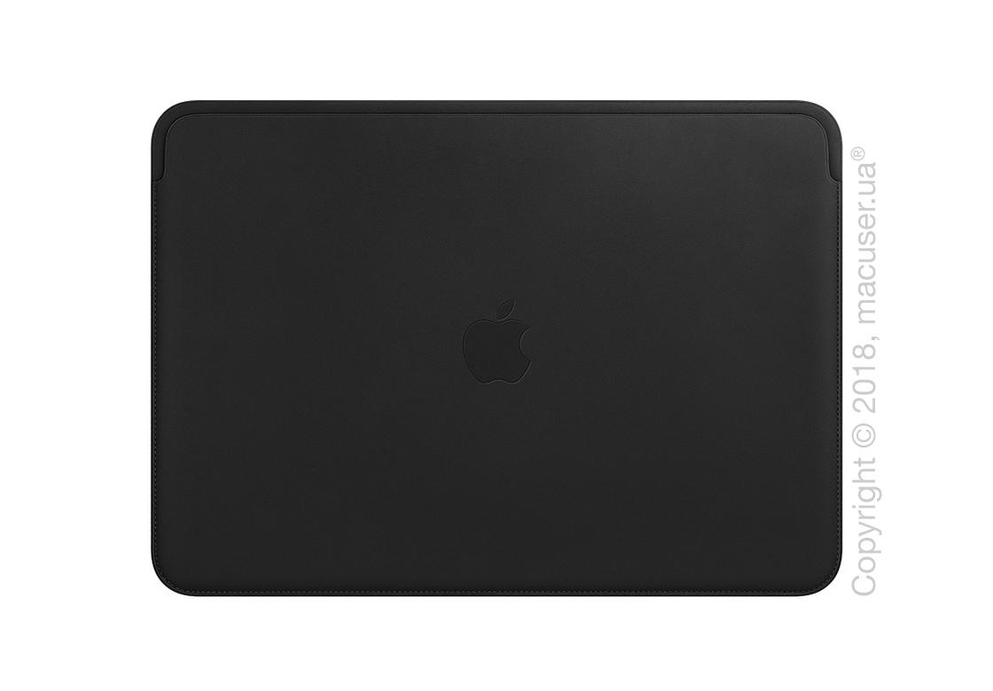 Кожаный чехол для MacBook Pro 15 дюймов, Black