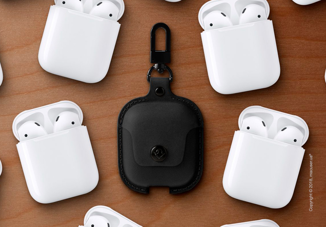 Чехол AirSnap for AirPods – Black