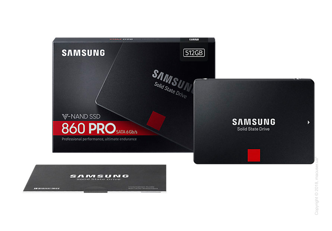 Samsung 860 Pro series 512GB 2.5