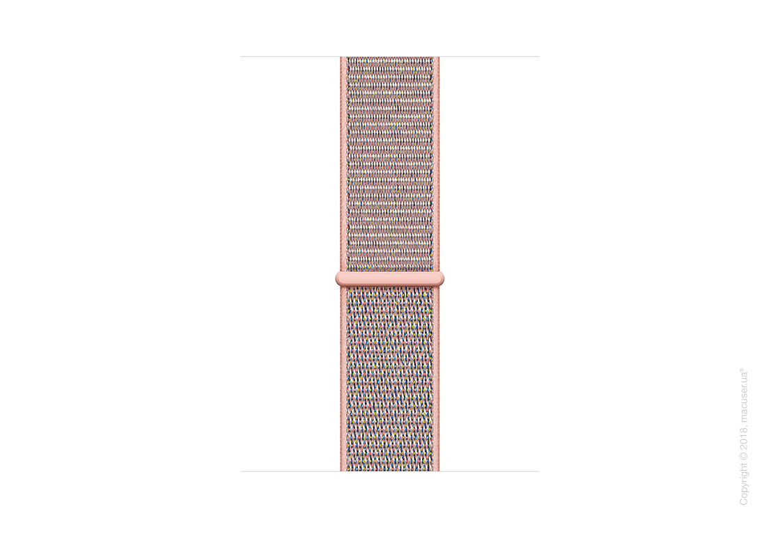 Apple Watch Series 4 GPS 40mm Gold Aluminum Case with Pink Sand Sport Loop