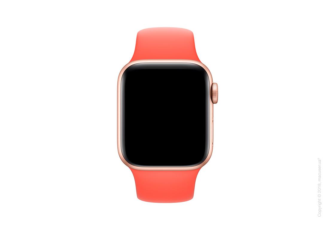 Спортивный ремешок Apple 40mm Nectarine Sport Band - S/M & M/L
