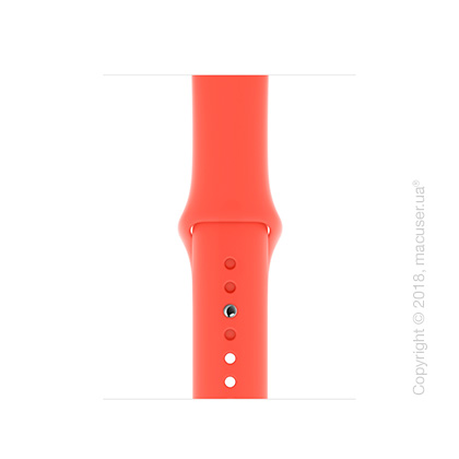 Спортивный ремешок Apple 40mm Nectarine Sport Band - S/M & M/L