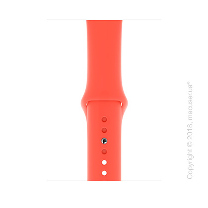 Спортивный ремешок Apple 44mm Nectarine Sport Band - S/M & M/L