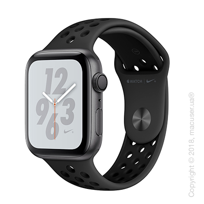 Apple Watch Series 4 GPS 44mm Space Gray Aluminum Case with Anthracite/Black Nike Sport Band