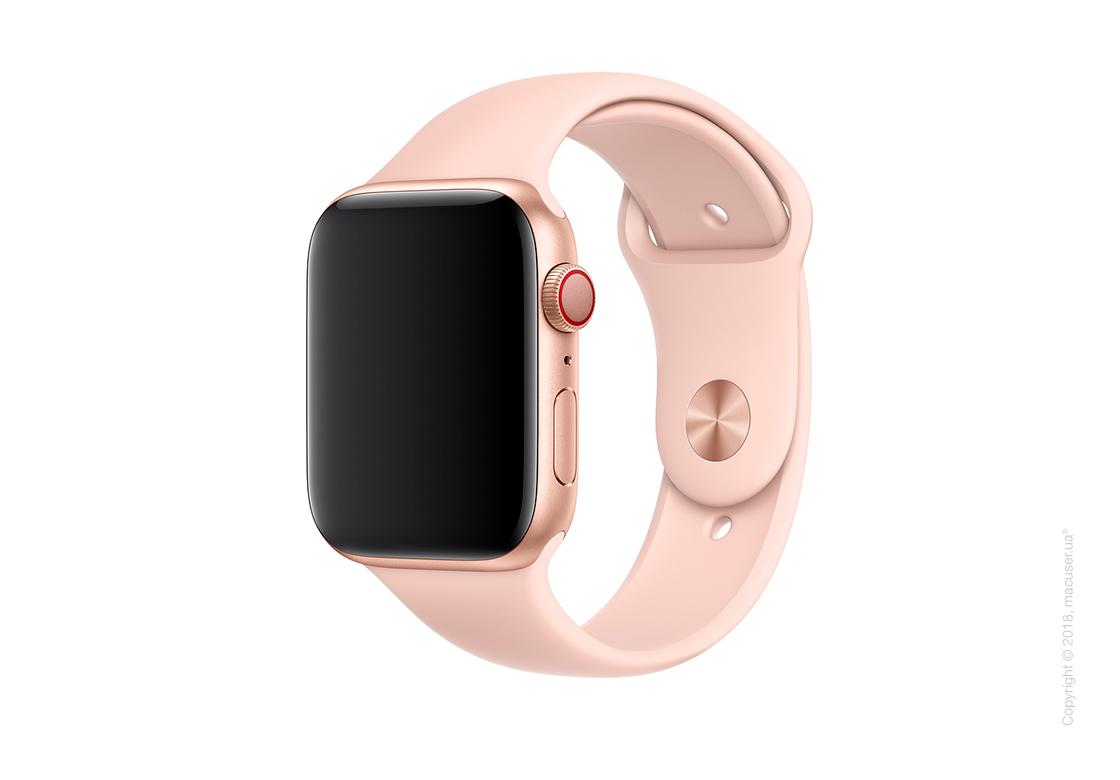 Спортивный ремешок Apple 44mm Pink Sand Sport Band - S/M & M/L