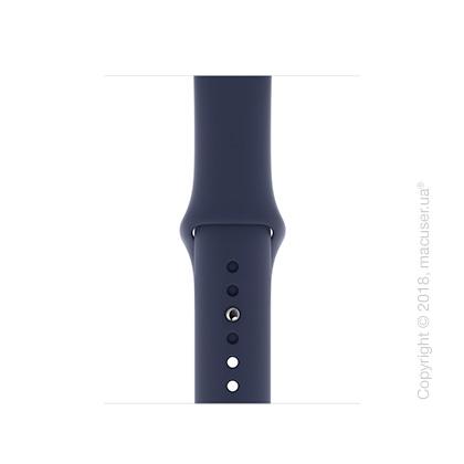 Спортивный ремешок Apple 40mm Midnight Blue Sport Band - S/M & M/L