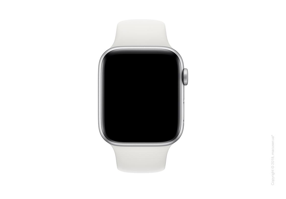 Спортивный ремешок Apple 44mm White Sport Band - S/M & M/L