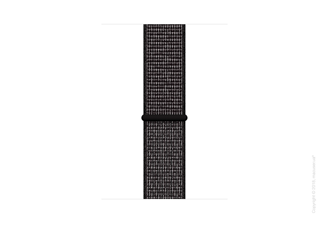 Apple Watch Series 4 GPS 44mm Space Gray Aluminum Case with Black Nike Sport Loop
