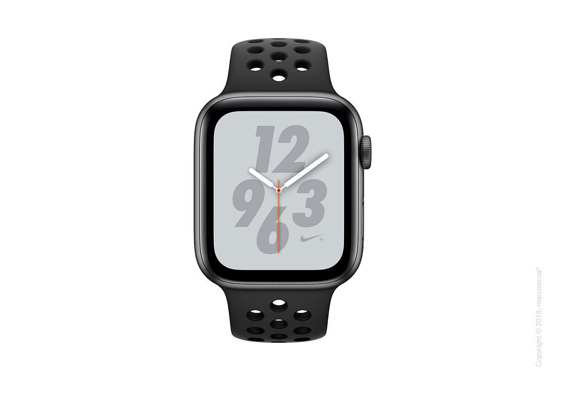 Apple Watch Series 4 GPS + Cellular 40mm Space Gray Aluminum Case with Anthracite/Black Nike Sport Band