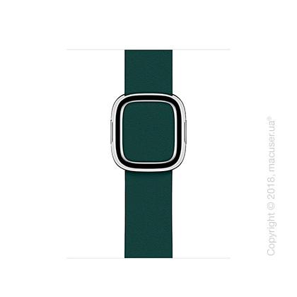 Ремешок цвета «зелёный лес» с современной пряжкой (для корпуса 40 мм), размер M