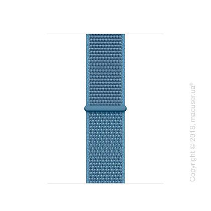 Спортивный браслет цвета «лазурная волна» (для корпуса 40 мм)