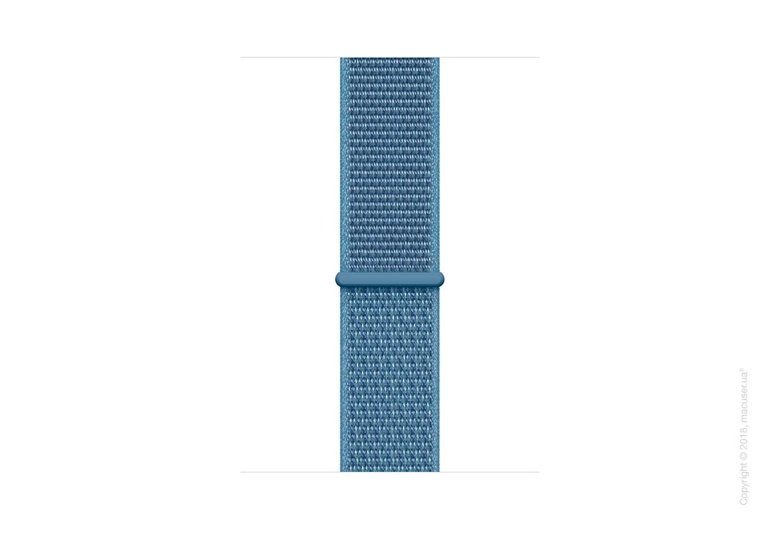Спортивный браслет цвета «лазурная волна» (для корпуса 44 мм)