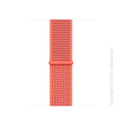 Спортивный браслет цвета «спелый нектарин» (для корпуса 40 мм)