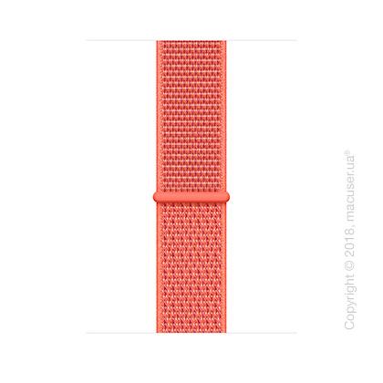 Спортивный браслет цвета «спелый нектарин» (для корпуса 44 мм)