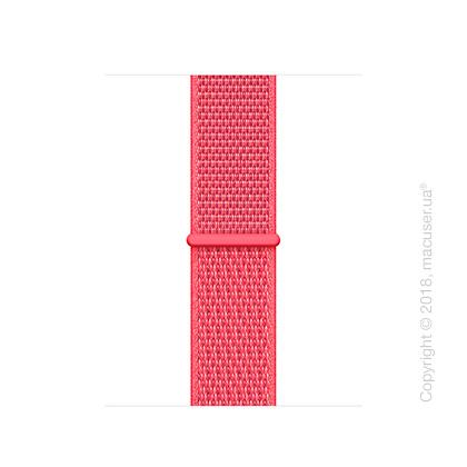 Спортивный браслет цвета «красный каркаде» (для корпуса 40 мм)