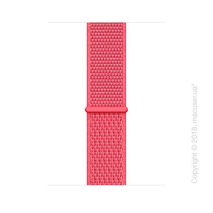 Спортивный браслет цвета «красный каркаде» (для корпуса 44 мм)