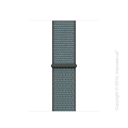Спортивный браслет цвета «грозовое небо» (для корпуса 40 мм)