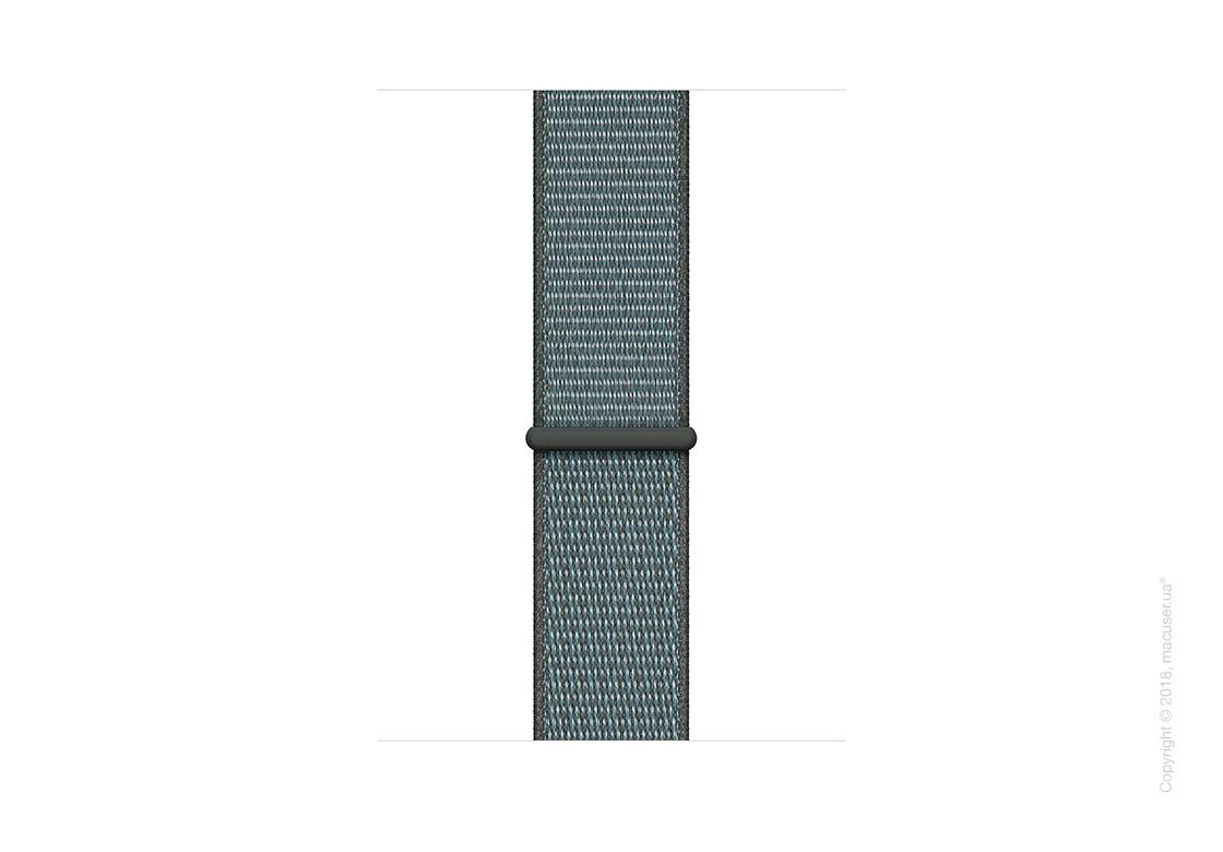 Спортивный браслет цвета «грозовое небо» (для корпуса 44 мм)